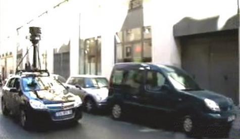 Snímání ulic pro Google Street View