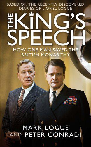 King´s Speech / přebal knihy