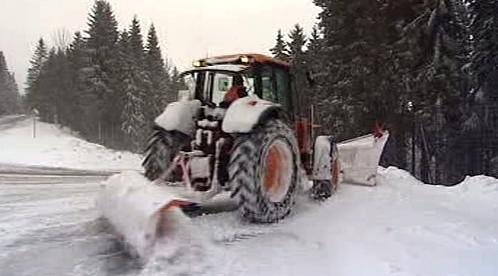 Traktor silničářů