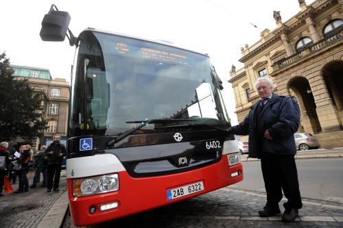 Nový hybridní autobus