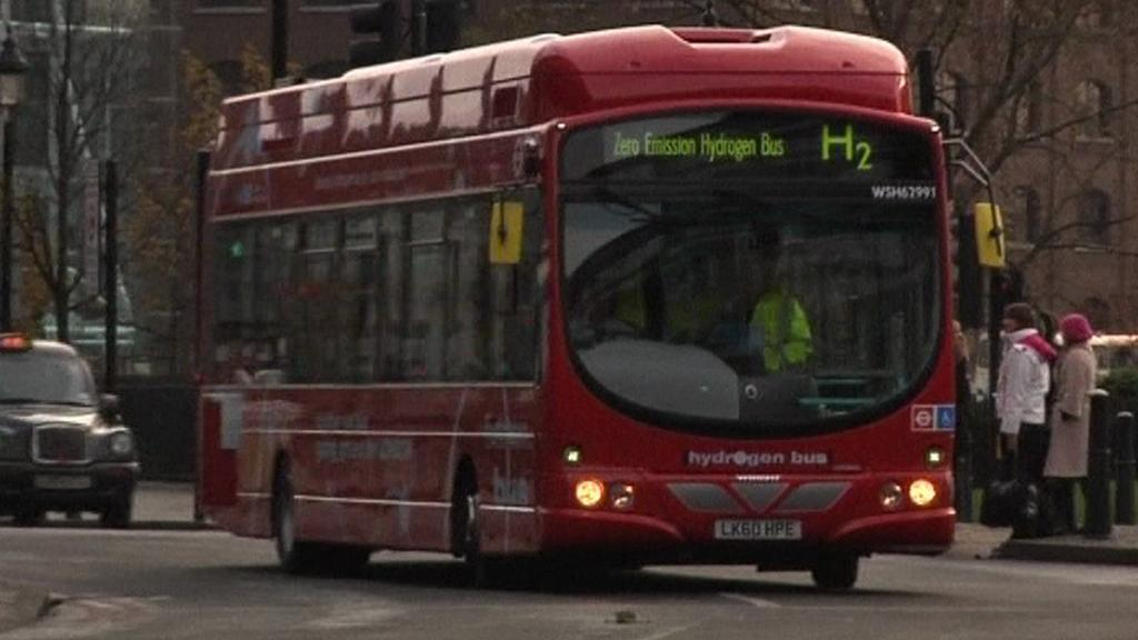 Autobus poháněný vodíkem