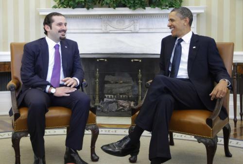 Saad Harírí jednal s Barackem Obamou