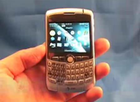 Mobilní telefon Blackberry