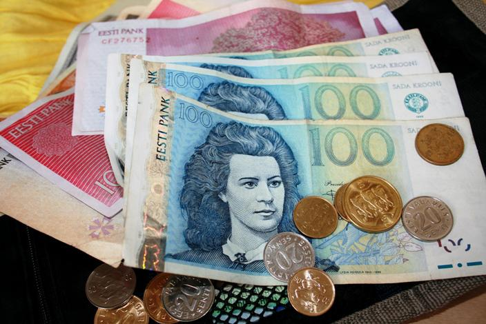 Estonské bankovky