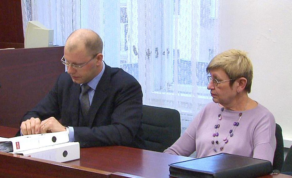 Ivana Königsmarková u soudu