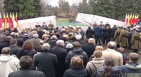 Památník obětem tragédie u Smolenska