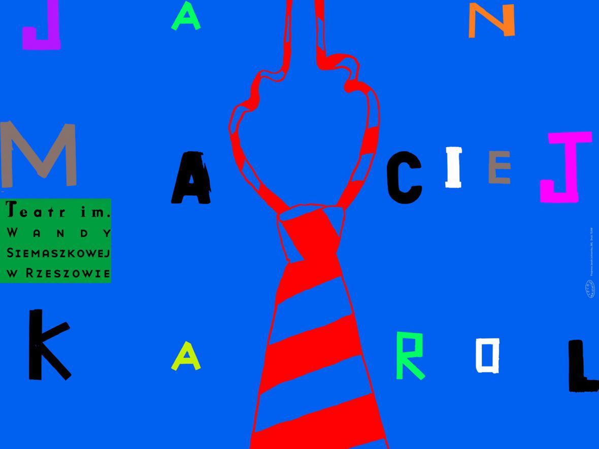Plakát Lecha Majewského (výřez)