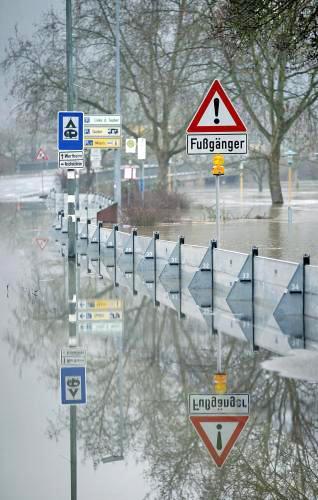 Velká voda v Německu