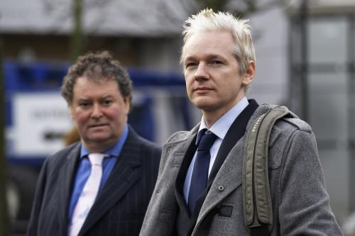 Julian Assange a Mark Stephens