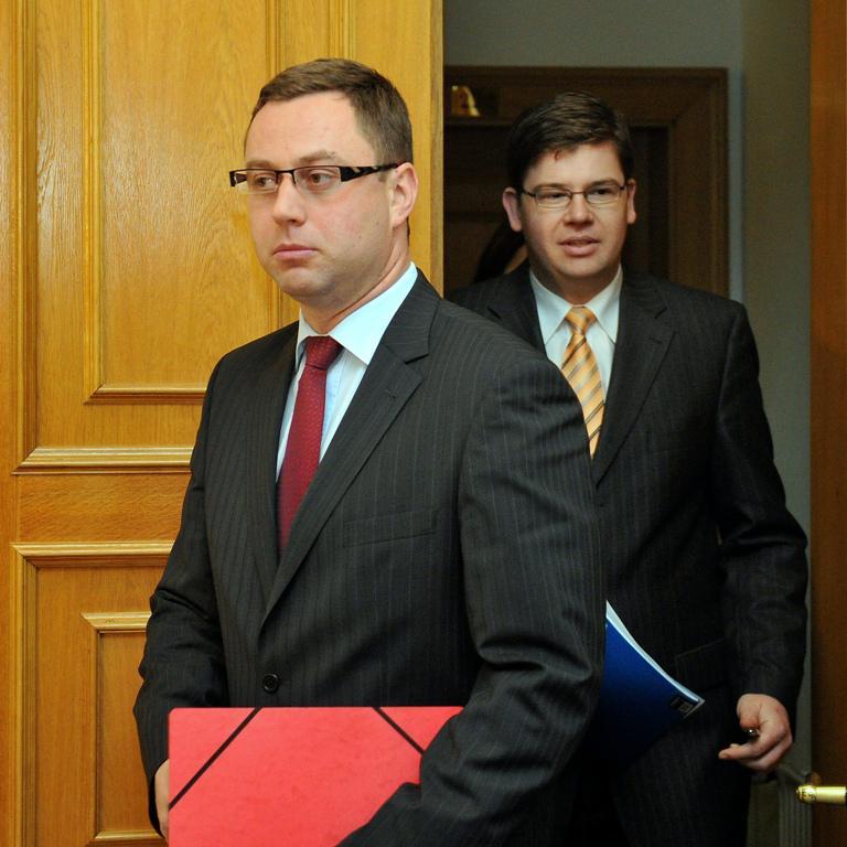 Pavel Zeman a Jiří Pospíšil