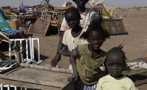 Súdánské děti