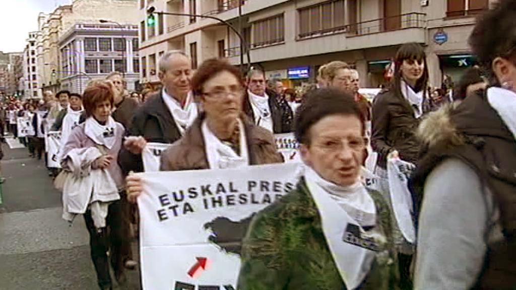 Demonstrace na podporu ETA