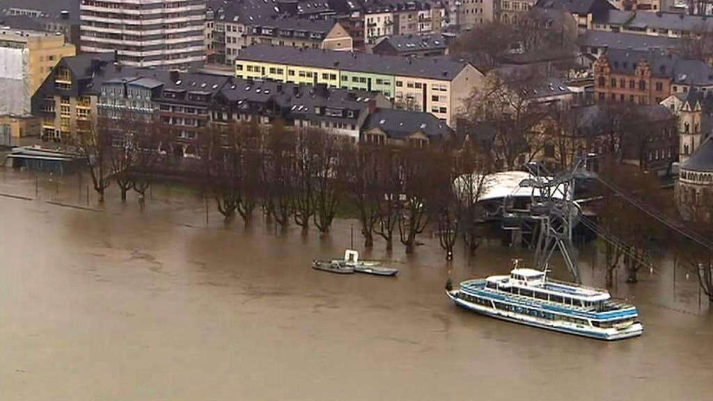 Povodně v Německu