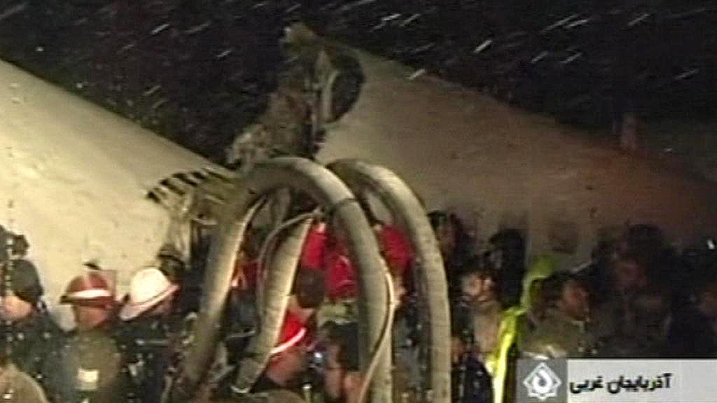 Nehoda letadla v Íránu