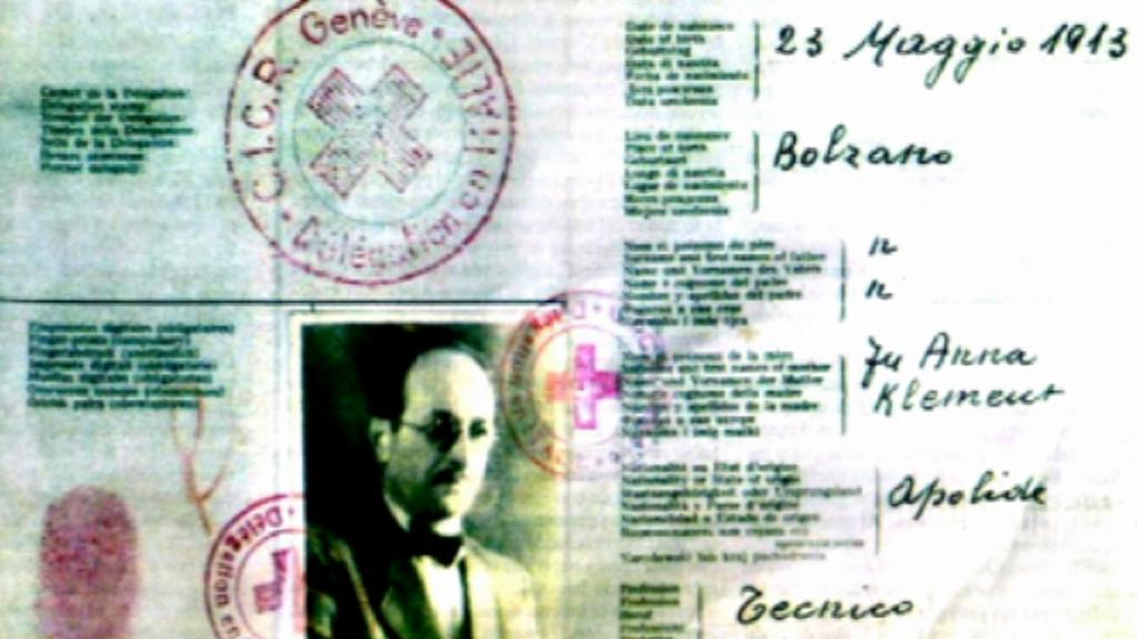 Průkaz Adolfa Eichmanna