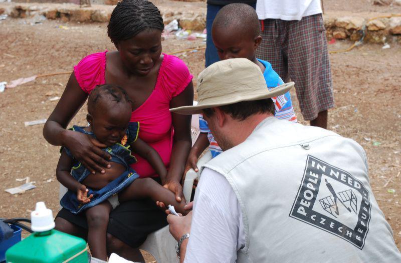 Čeští zdravotníci  na Haiti