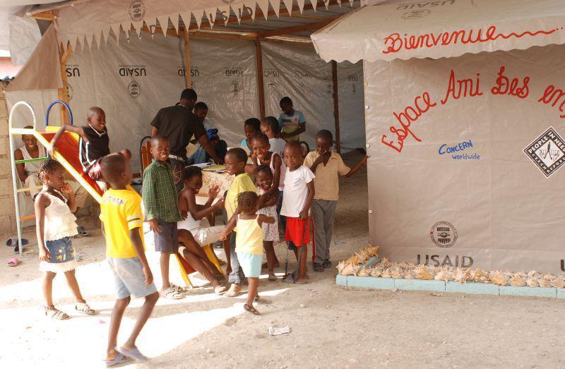 Dětské centrum v Port-au-Prince