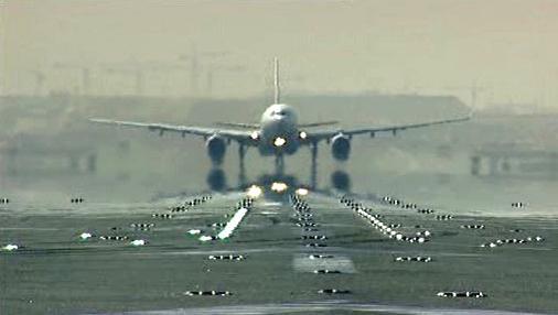 Letadlo při odletu