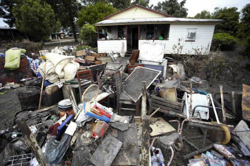 Po záplavách v Queenslandu