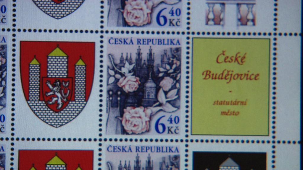 Poštovní známka Českých Budějovic