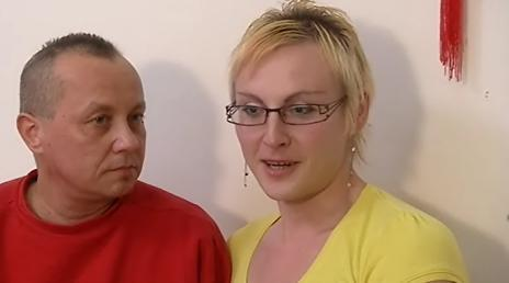 Dominik s přítelkyní Andreou