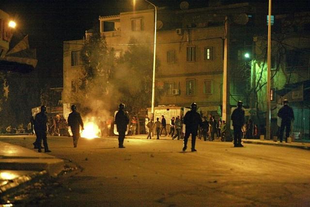 Nepokoje v Alžírsku