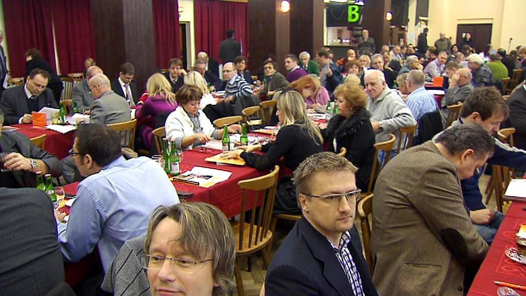 Delegáti pražské konference ČSSD