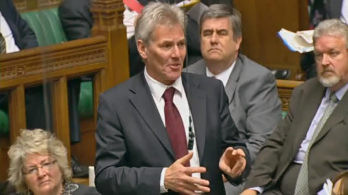 David Chaytor v parlamentu