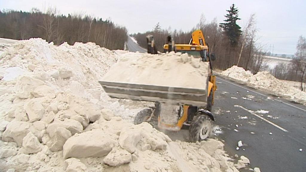 Odklízení sněhu