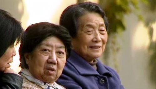 Čínské seniorky
