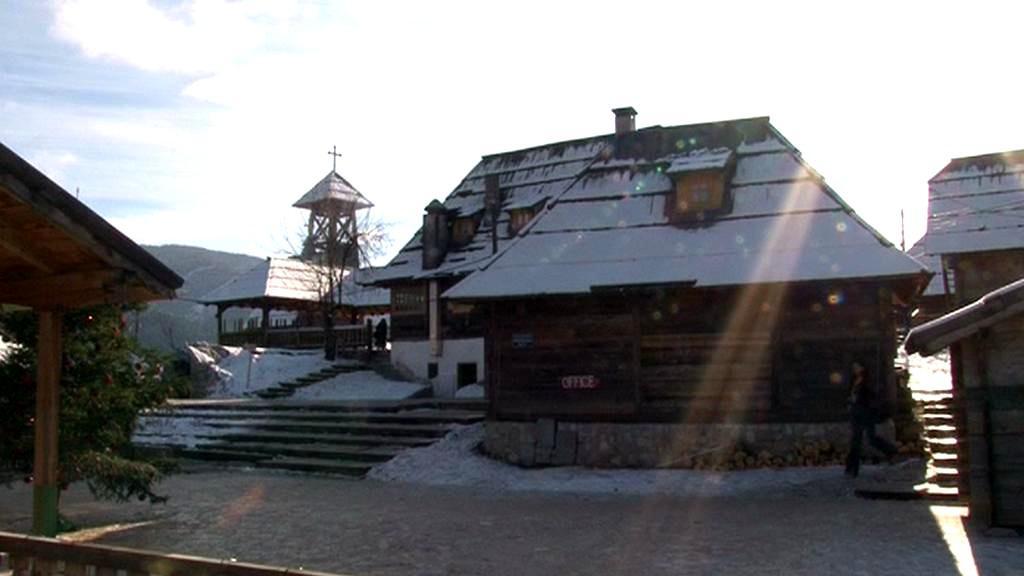 Kusturicova vesnice Drvengrad