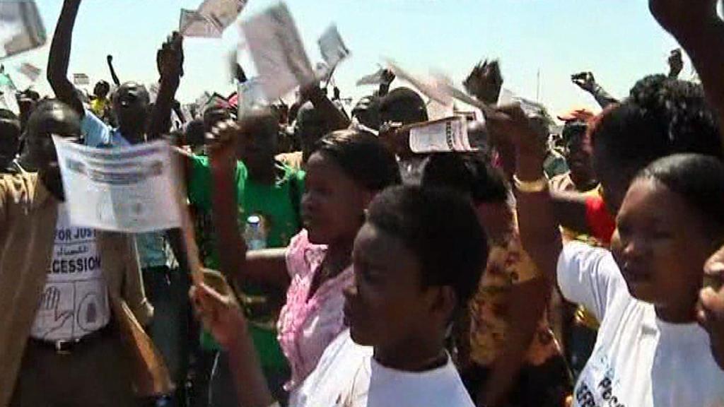 Súdánci oslavují referendum o rozdělení