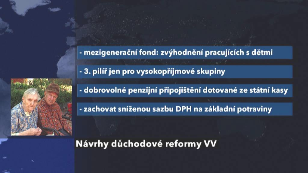 Důchodová reforma dle VV