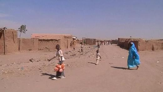 Uprchlický tábor v Súdánu