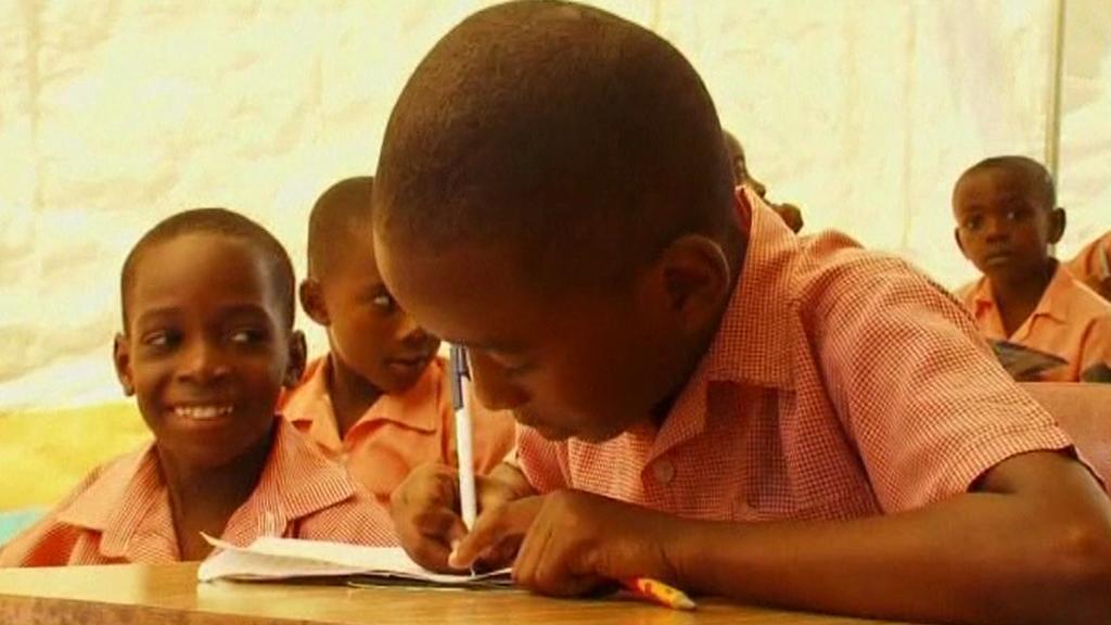 Škola na Haiti