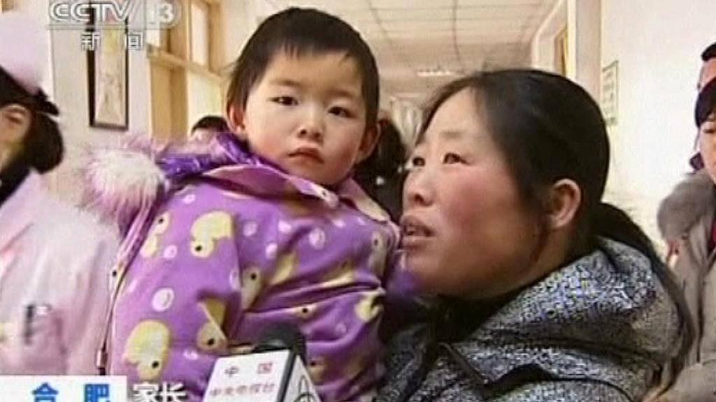 Dítě otrávené olovem