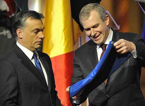 Viktor Orbán a Yves Leterme