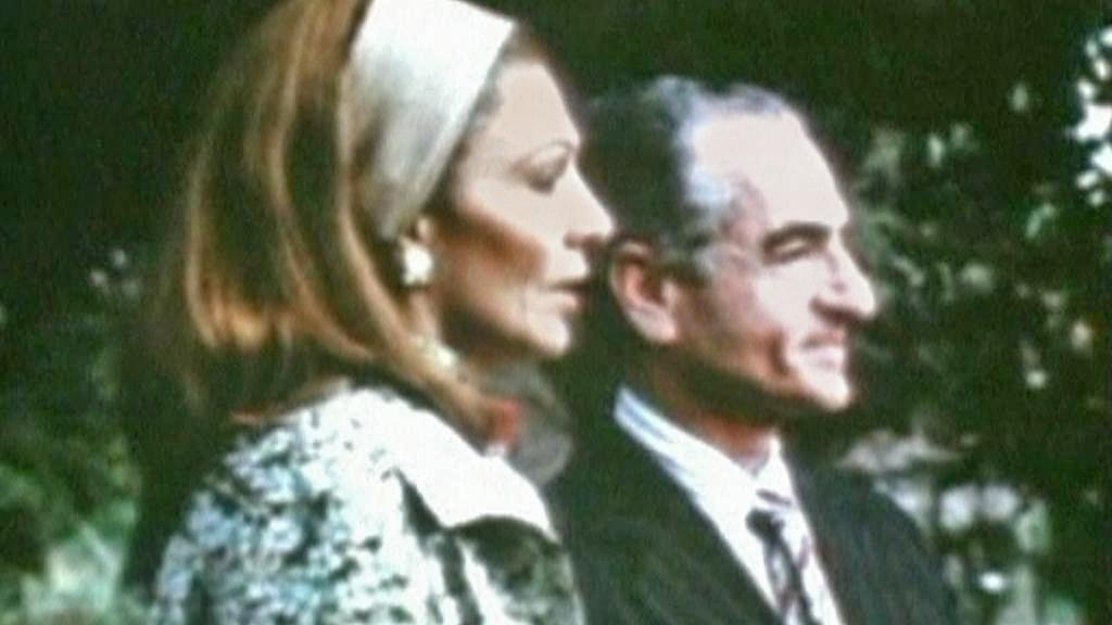 Šáh Pahlaví s manželkou Farah