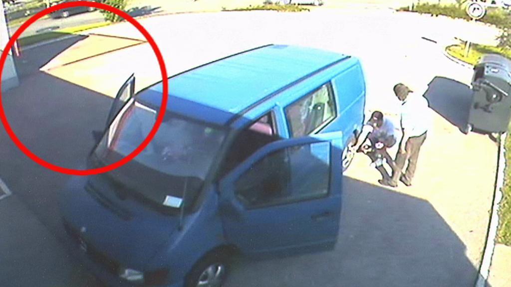 Krádež při opravě kola