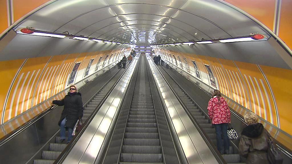 Eskalátory v metru