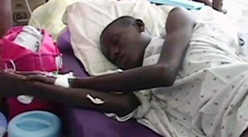 Pacient na Haiti