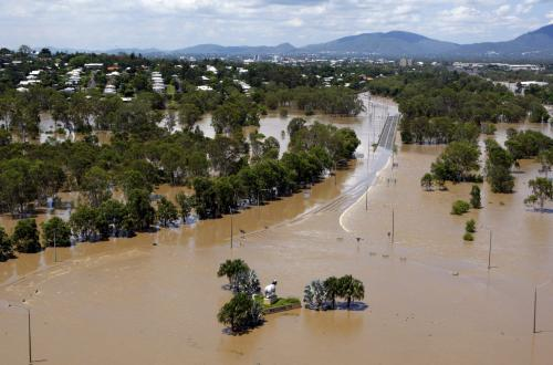 Zaplavený Rockhampton
