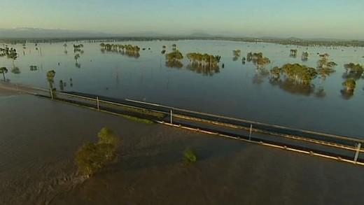 Velká voda v Austrálii