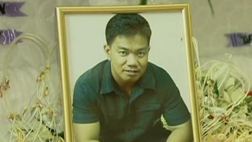Filipínský radní Reynald Dagsa