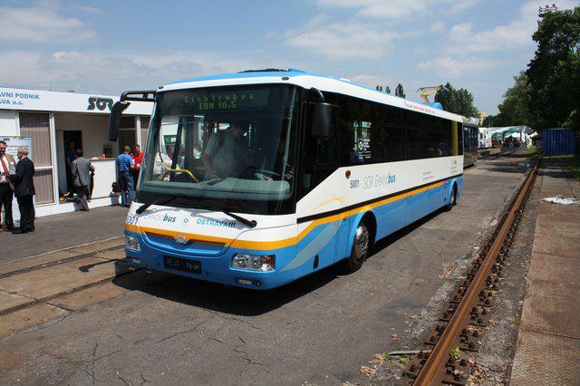 Elektrobus SOR EBN10.5