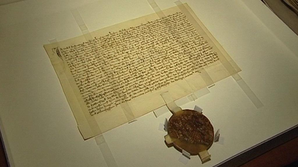 Historický dopis s pečetí
