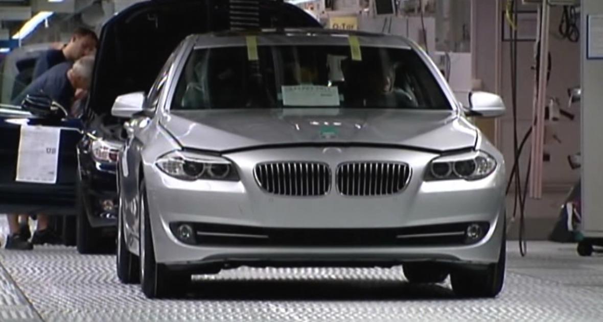 Dělníci v BMW