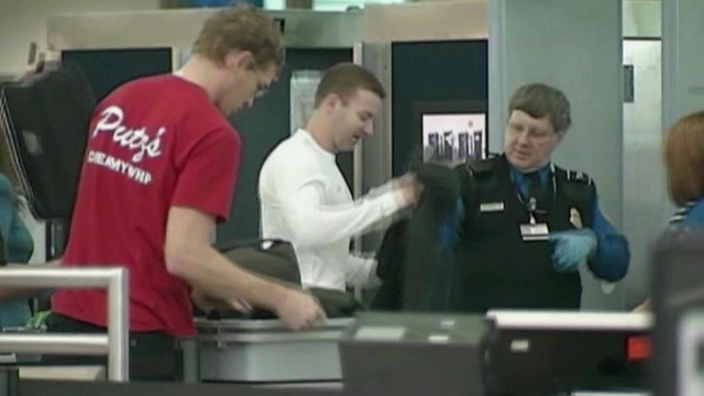 Letištní kontroly