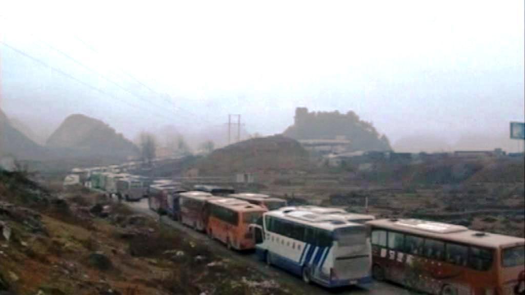 Dopravní zácpy v Číně