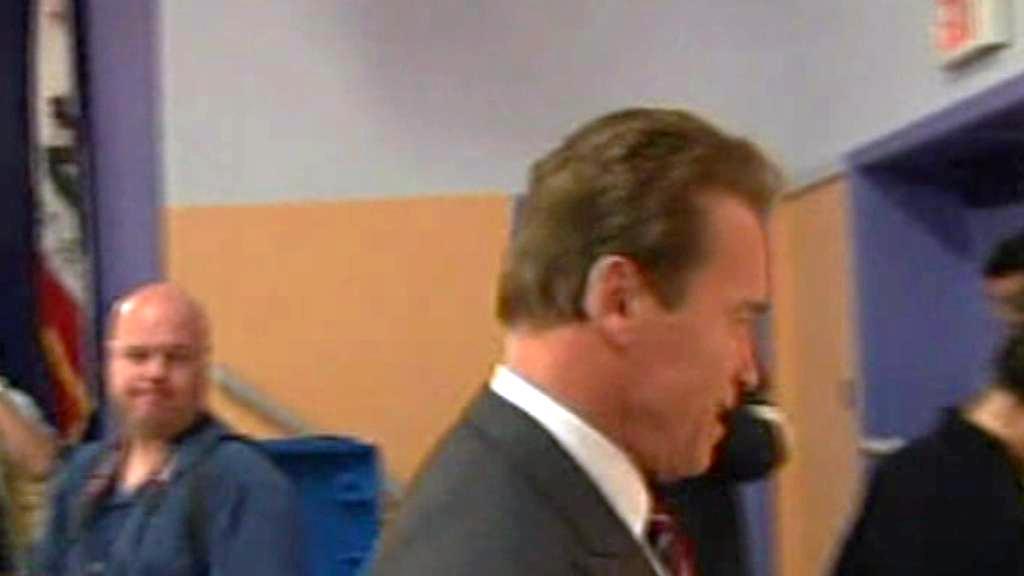 Arnold Schwarzenegger odchází...